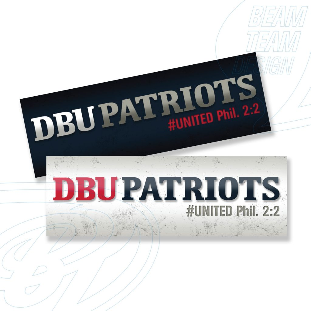 DBU Athletics Social Media Banners