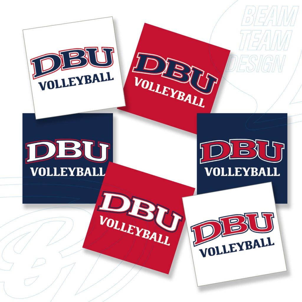 DBU Athletics Social Media Buttons