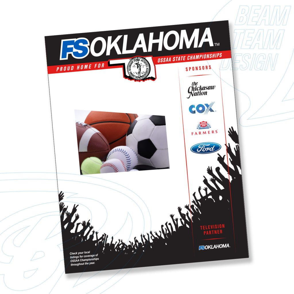 Fox Sports Oklahoma Print Advertisement